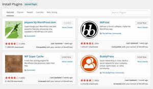 "Wordpress 4.0 ""Benny"" pluggin katalog"